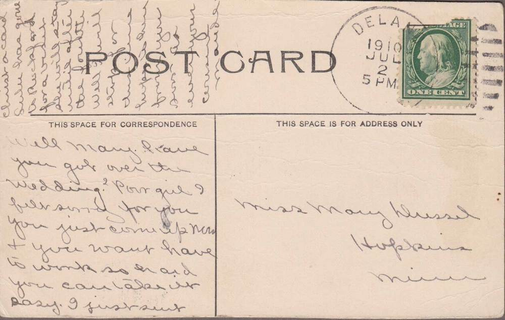 6. Crow River Postcard Back