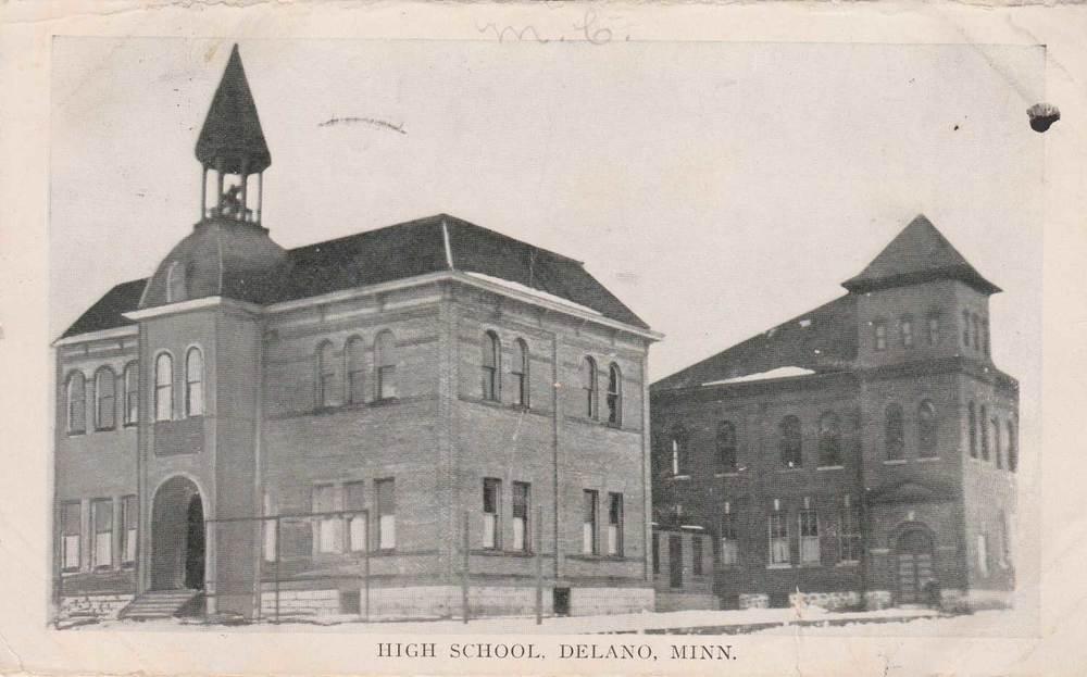 11. Delano High School Postcard
