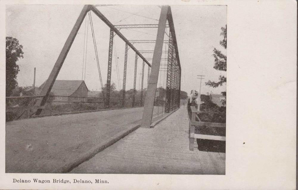15. Delano Wagon Bridge Postcard