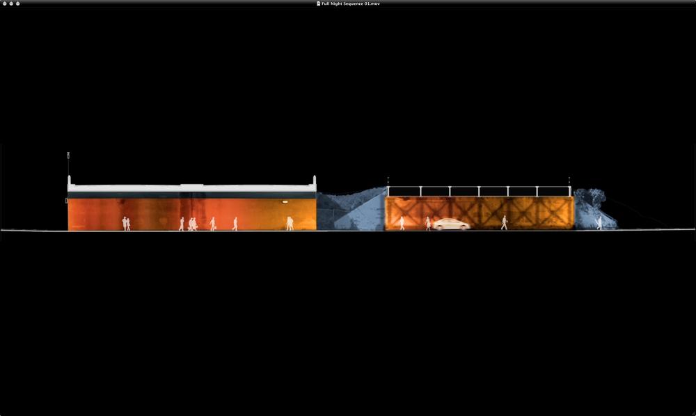 Dereck Revington Studio - BlueGold Variations - Gold Phase Elevation
