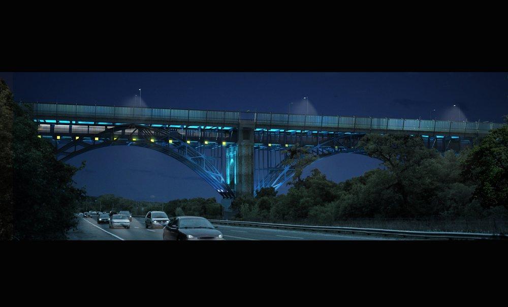 Dereck Revington Studio - The Luminous Veil Phase III - Bayview