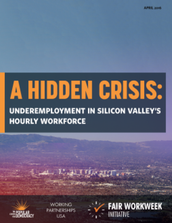 A Hidden Crisis: Underemployment in Silicon Valley's Hourly Workforce
