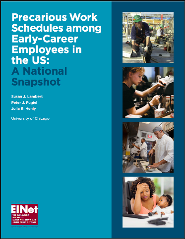 Precarious Work Schedules among Early-Career Employees in the US: A National Snapshot