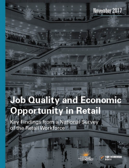 Job Quality and Economic Opportunity in Retail: Key Findings from a National Survey of the Retail Workforce