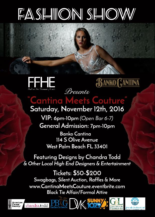 Fashion, charity, west palm beach, donate, palm beach county