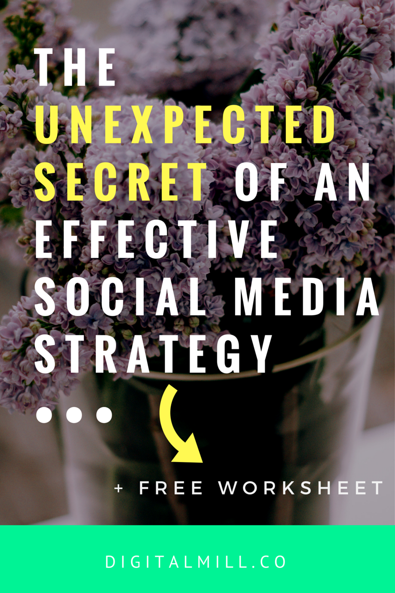 how to build an effective social media strategy