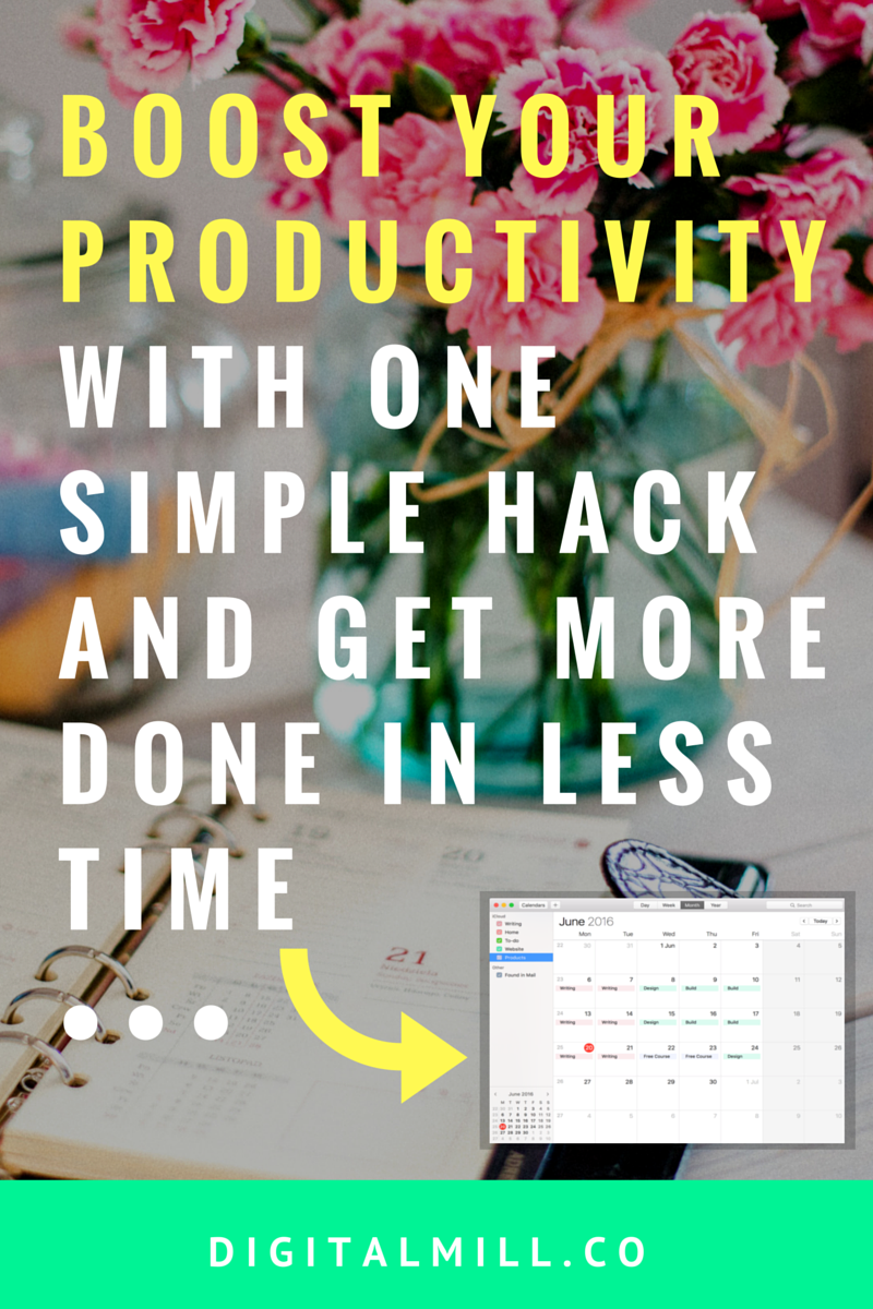 boost productivity and get more done in less time