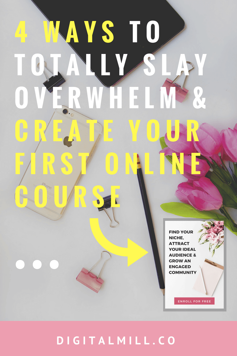 how to create your first online course
