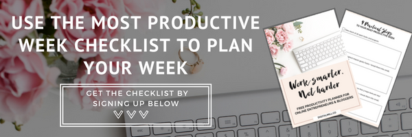 how-to-have-the-most-productive-week