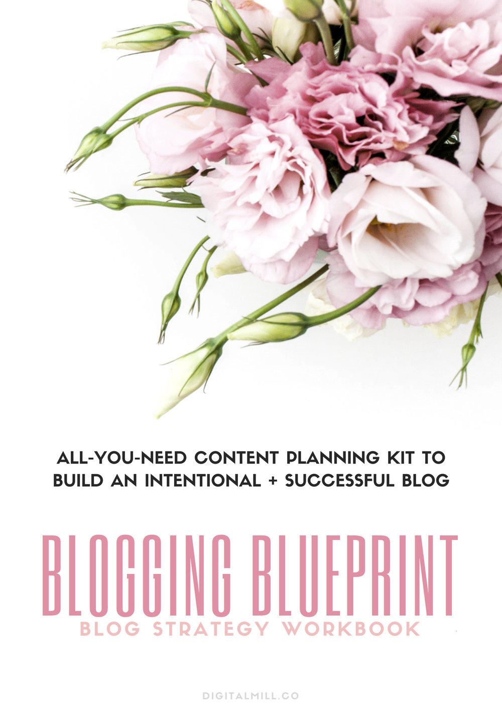 blog content planning workbook