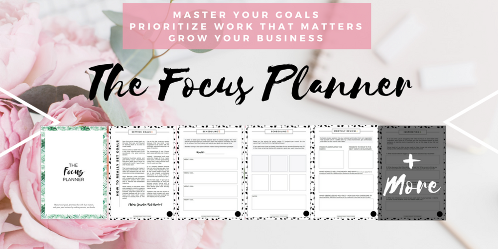 focus productivity planner for entrepreneurs