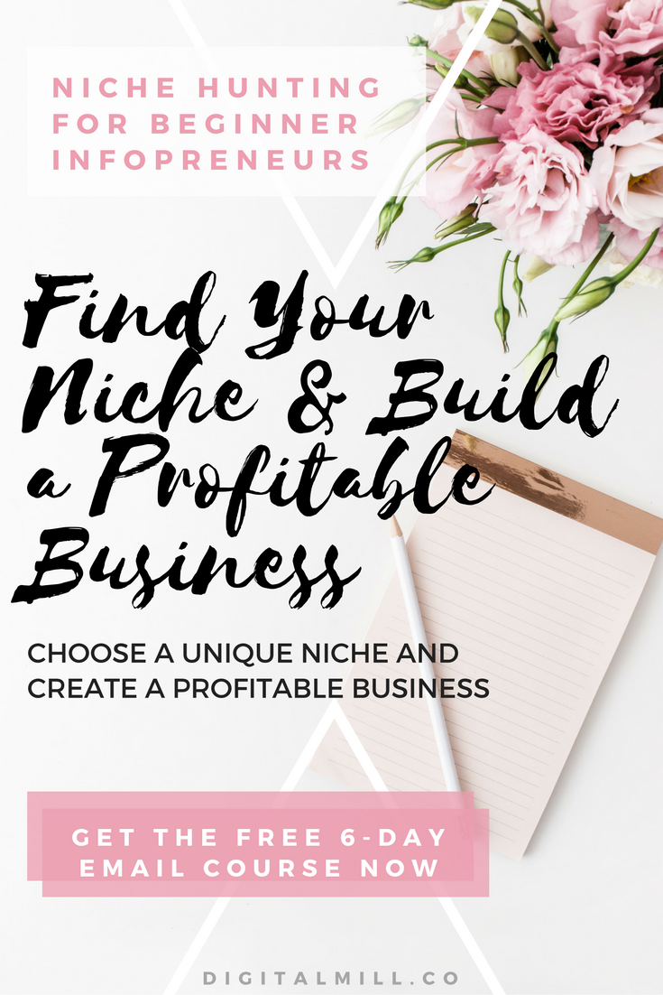 find your niche online business
