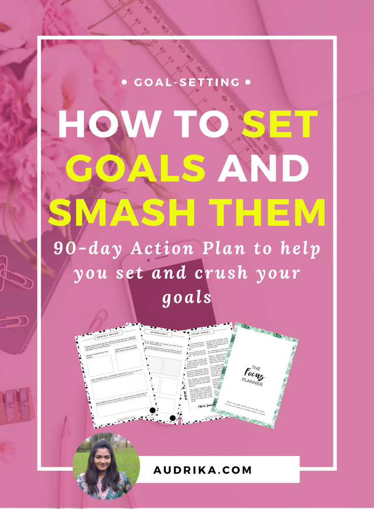 How to set goals for your online business and blog that you'll actually achieve. Free goal-setting worksheet included. Read and get it now >>