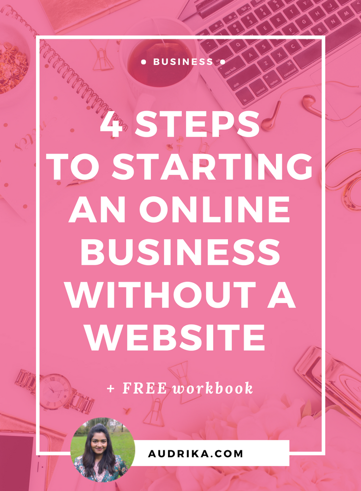 A four-step process to help you cut out the noise and start a profitable online business WITHOUT a website.