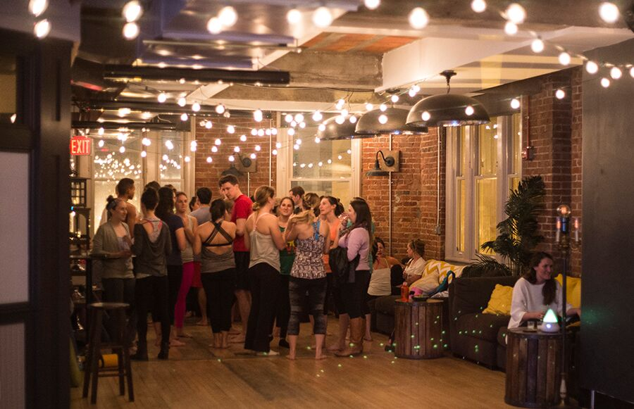 <i>Vinyasa to Vino — The Loft, Washington DC </i>