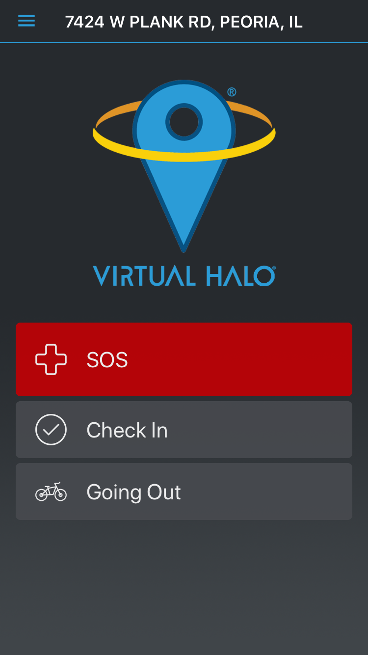 Figure 5 - Begin using Virtual Halo