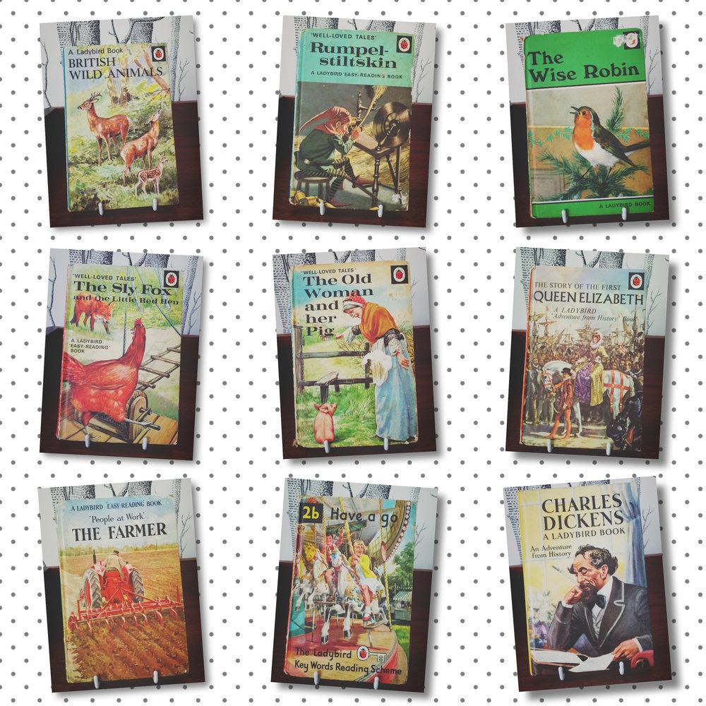 Lovely ladybird books!