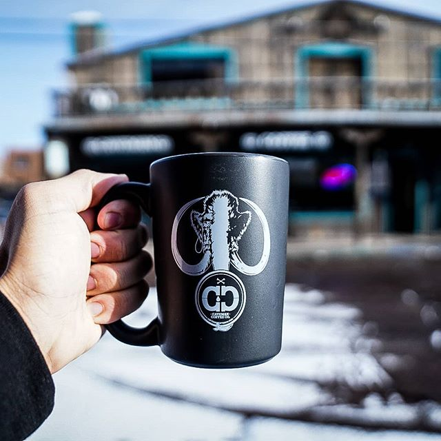 A little snow on the ground never hurt nobody! Just another reason to drink more Mammoth or Sabertooth Roast at the Cave! HEY SKIERS/SNOWBOARDERS, show us you ski pass and get 15% off! . . . #cavemancoffeecave #cavemancoffeeco #piratelife #skibueno #skisantafe #howtosantafe #simplysantafe #thecitydifferent #downtownsantafe #santafeplaza #mostwonderfultimeoftheyear #holidays #nmtrue #newmexico #muglife #coffeemug #coffee #espresso #coffeefirst #coffeelove