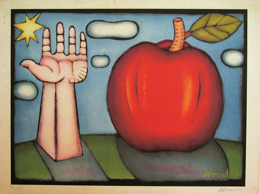 Mão e Maçã | Hand and Apple