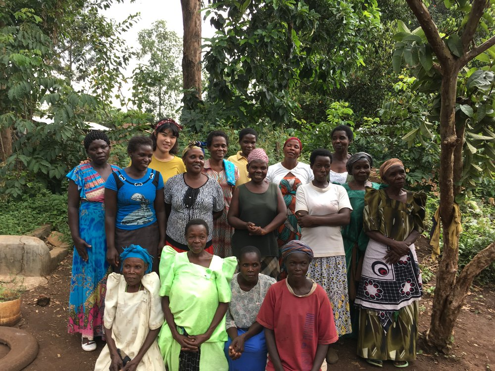 <With Simu Women's Saving Group>