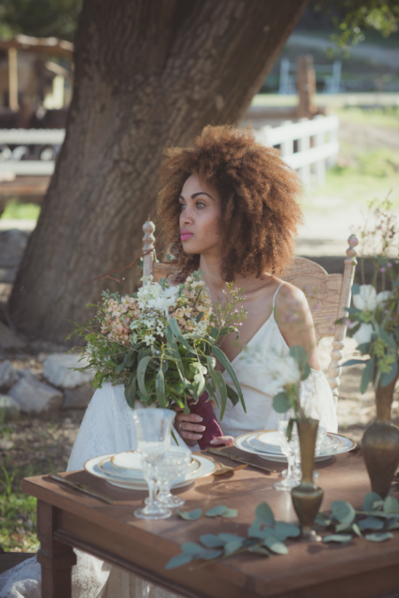 Brooke from Fern & Bone styled this gorgeous tablescape.