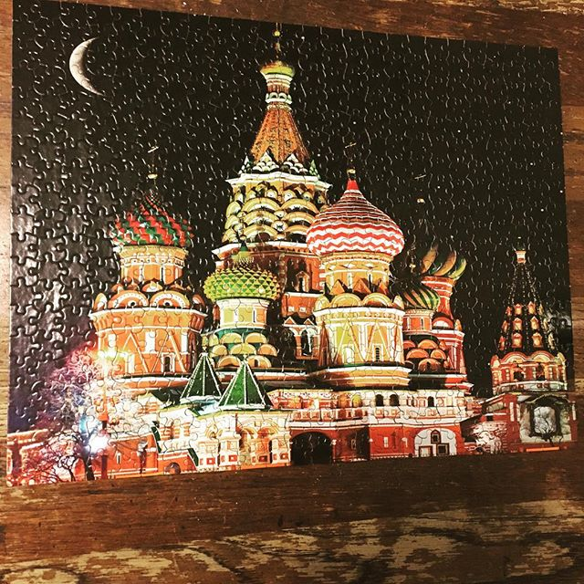 Don't do puzzles when a third of it is night sky, guys.