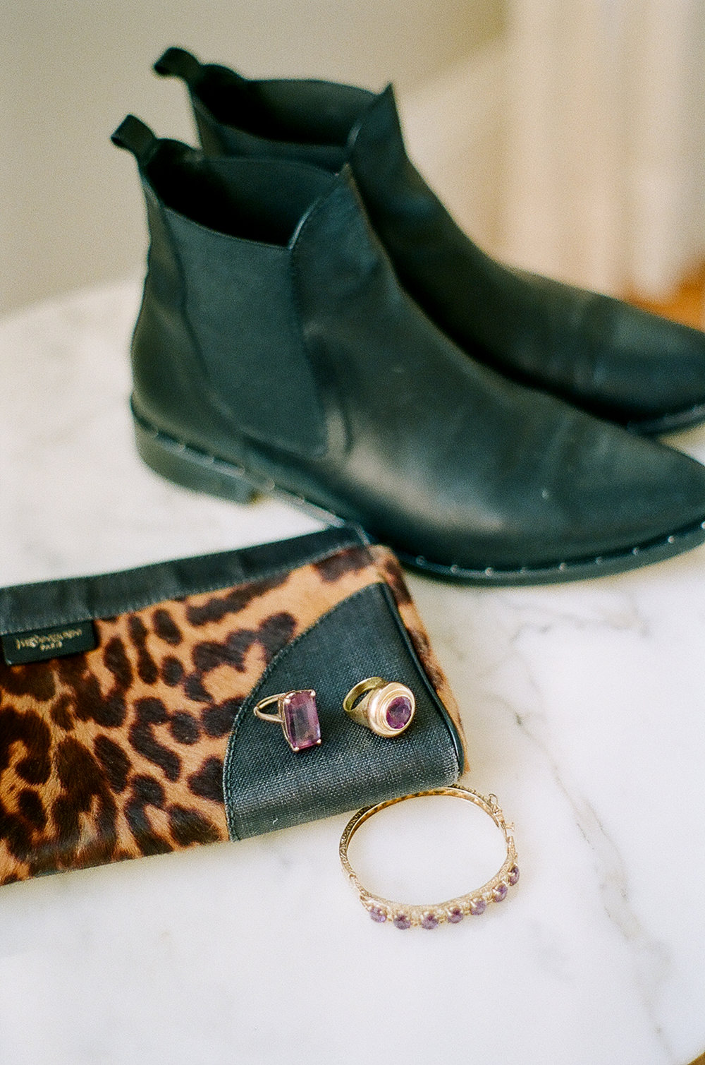 A few more of Lauren's vintage jewels, plus some favorite boots from our friends at  Freda Salvador .