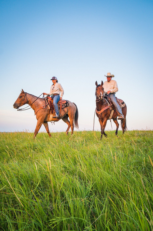 Horseback in the Flint Hills