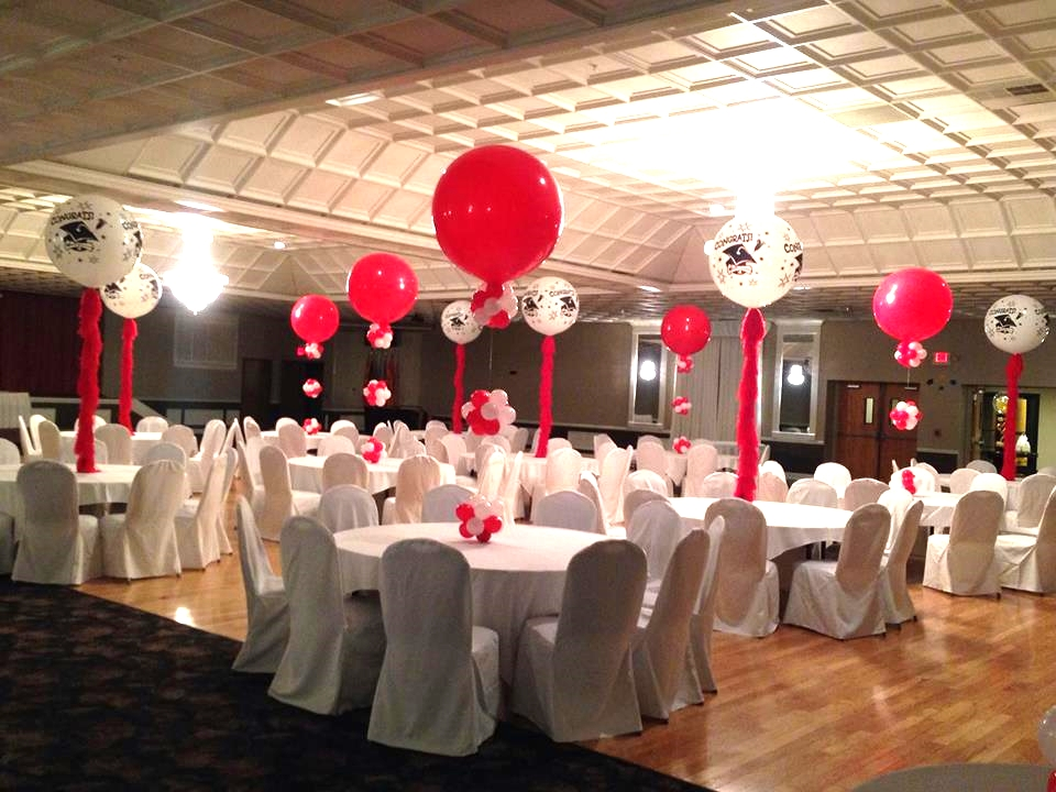 3 foot Balloons with tassels