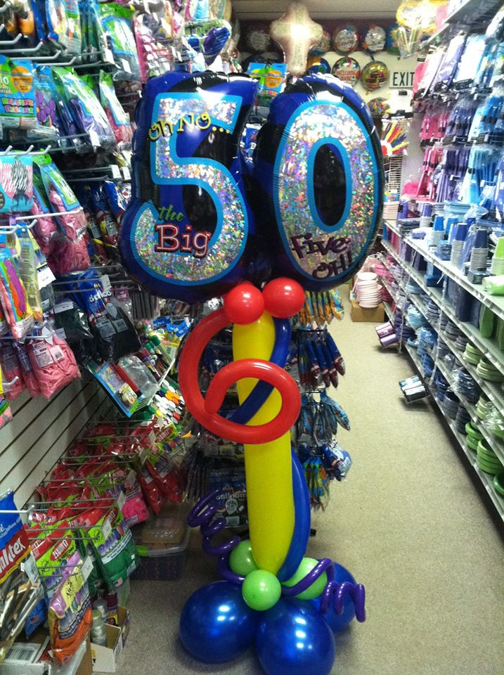 50th Birthday Tower $25