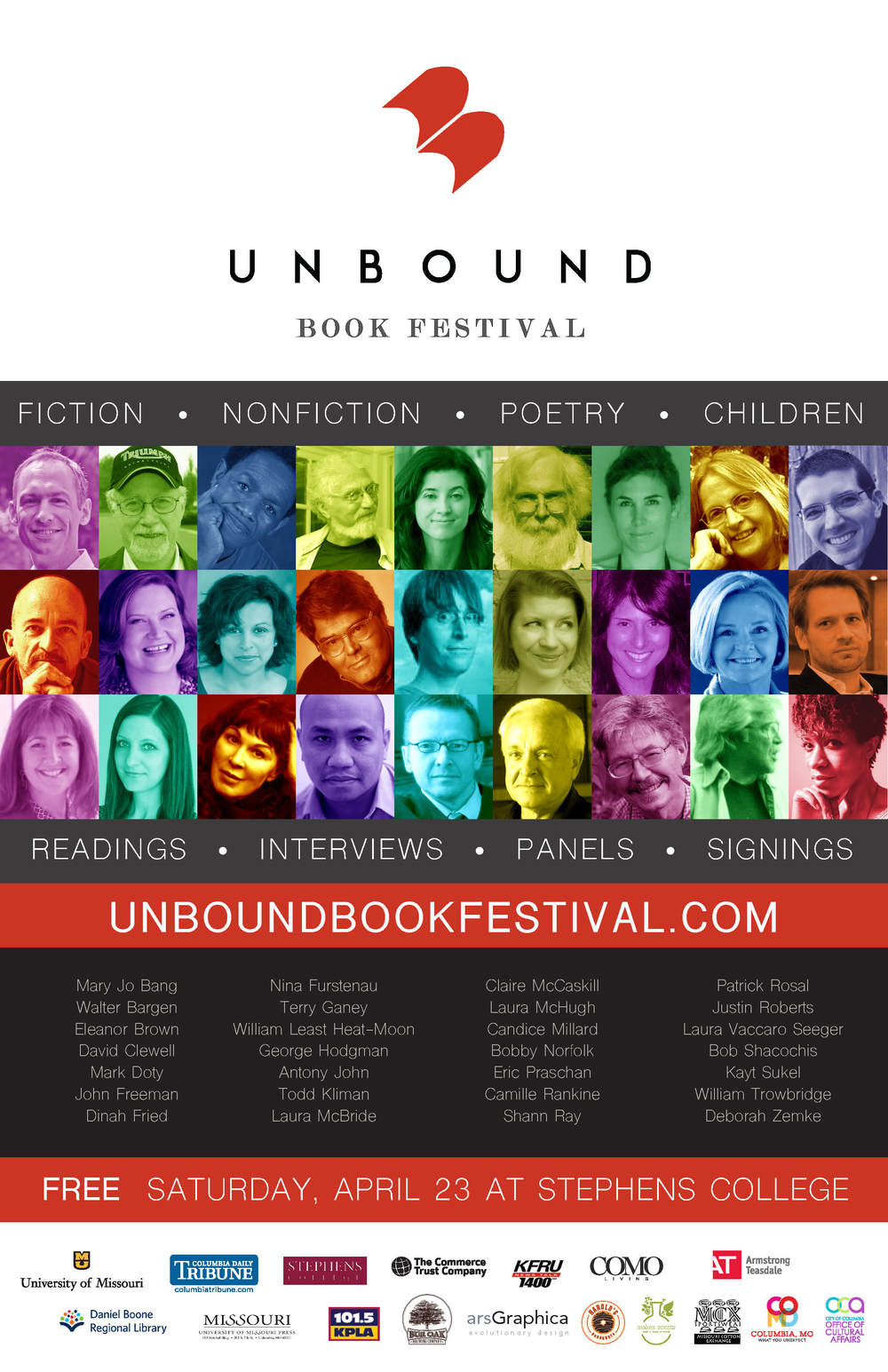 Unbound Book Festival Poster