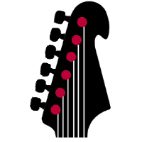 guitar headstock icon