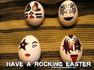 Happy Easter to all friends and family.