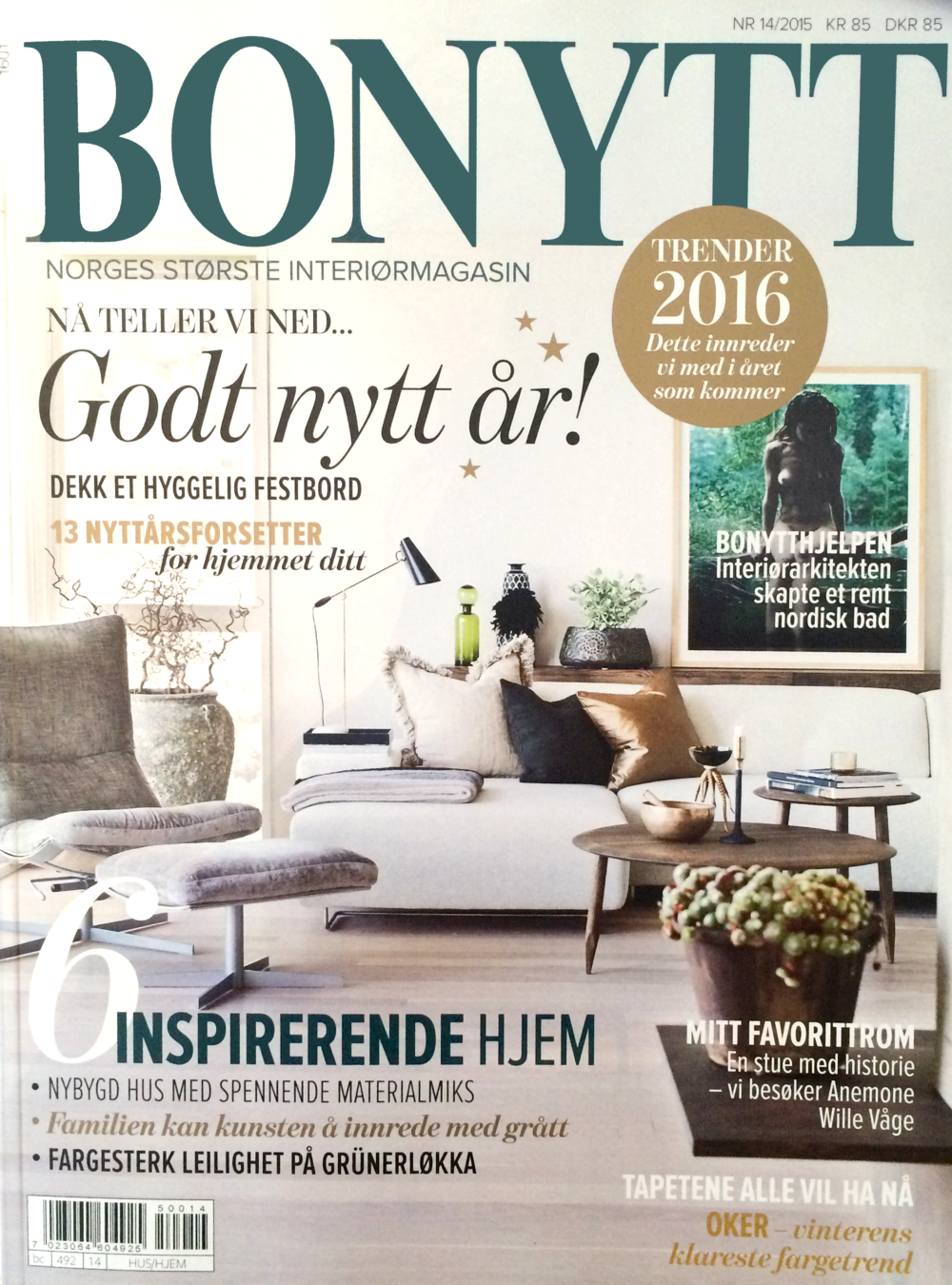 Bonytt - Nr. 14 / 2015