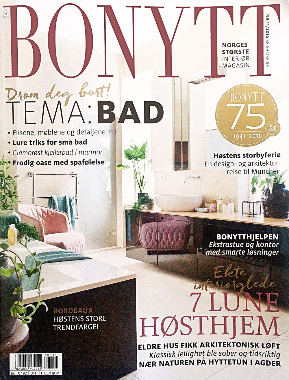 Bonytt - Nr. 10 / Oktober 2016