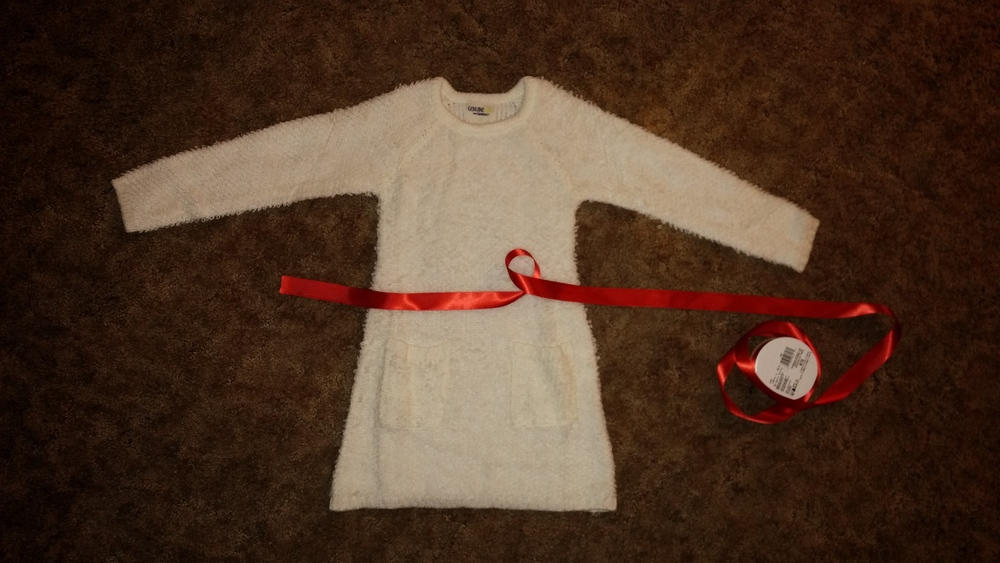 My Santa Lucia didn't want to try on the dress today. Hoping she's more excited on the 13th!