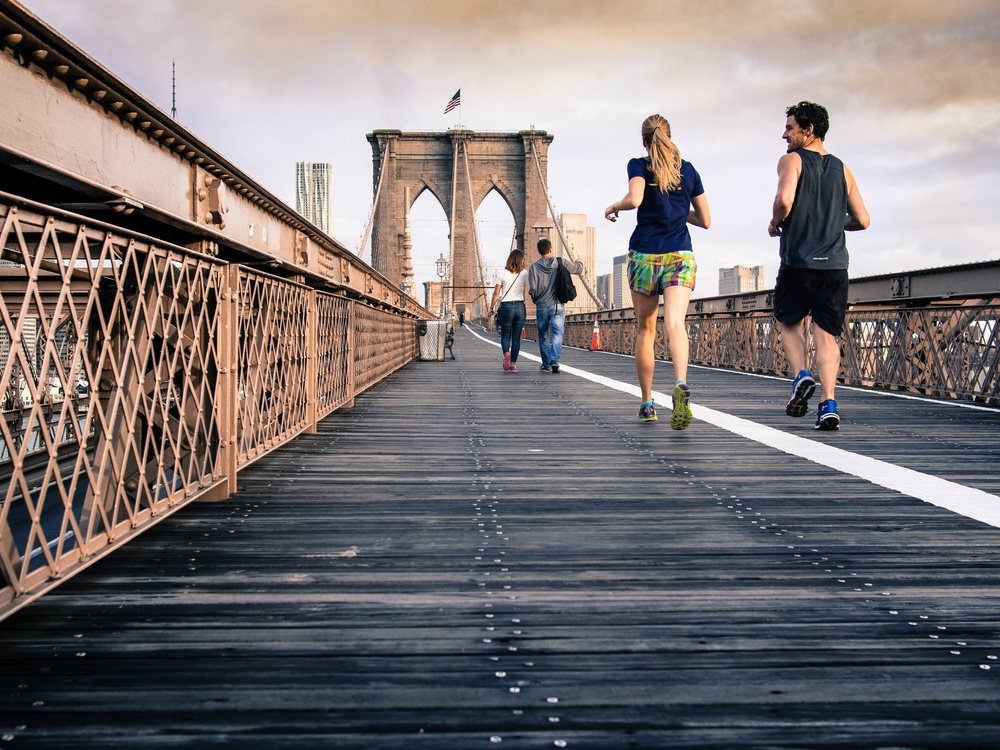 Do you have a New Years resolution to start running?  Maybe it's to travel more?  SOURCE: unsplash.com