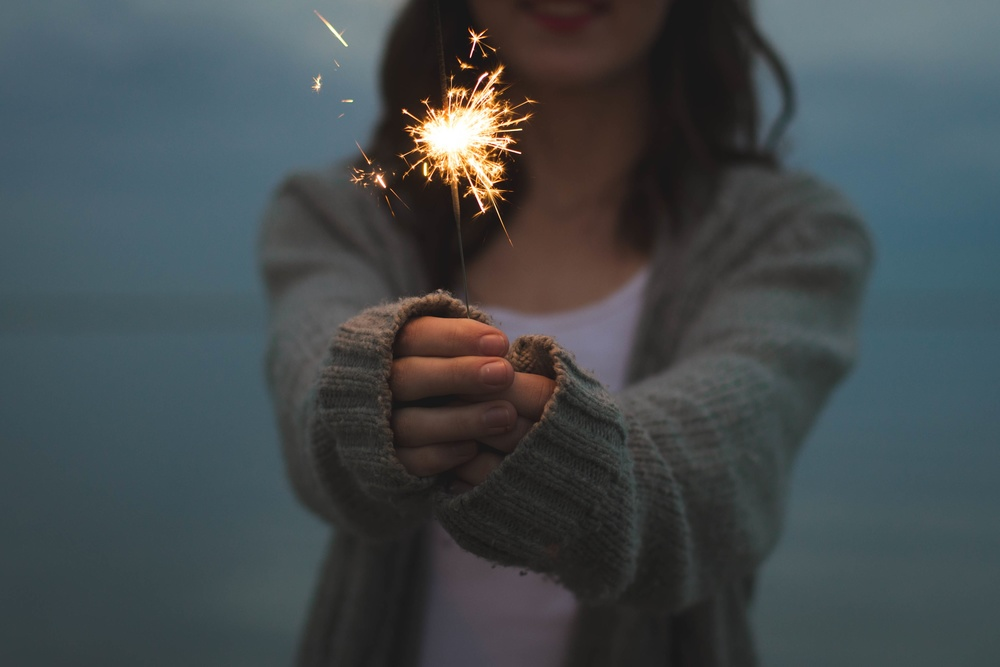 Spread the spark!  SOURCE: unsplash.com