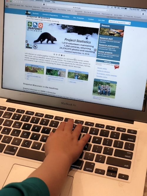 Exploring the Snapshot Wisconsin Website!
