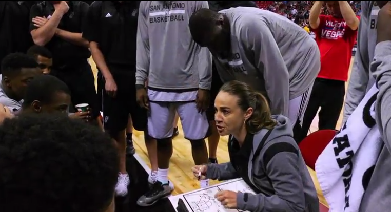 Becky Hammond, San Antonio Spurs assistant coach.