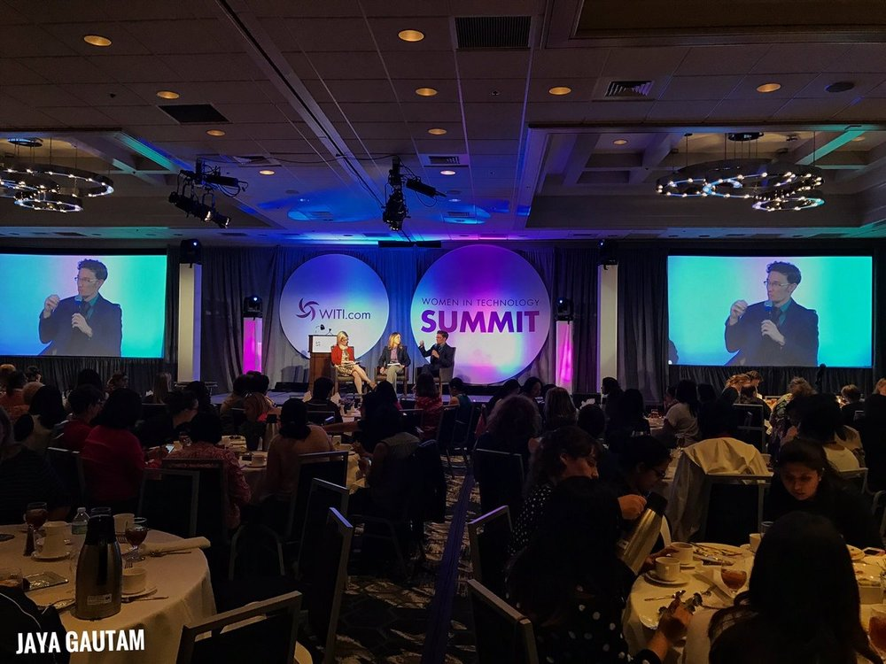 Women in Tech - Dale Thomas Vaughn spoke for the second year in a row at the WITI summit in Silicon Valley.