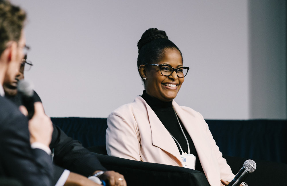 Lesley Slaton Brown, Chief Diversity Officer of HP inc. at Better Man Conference 2017