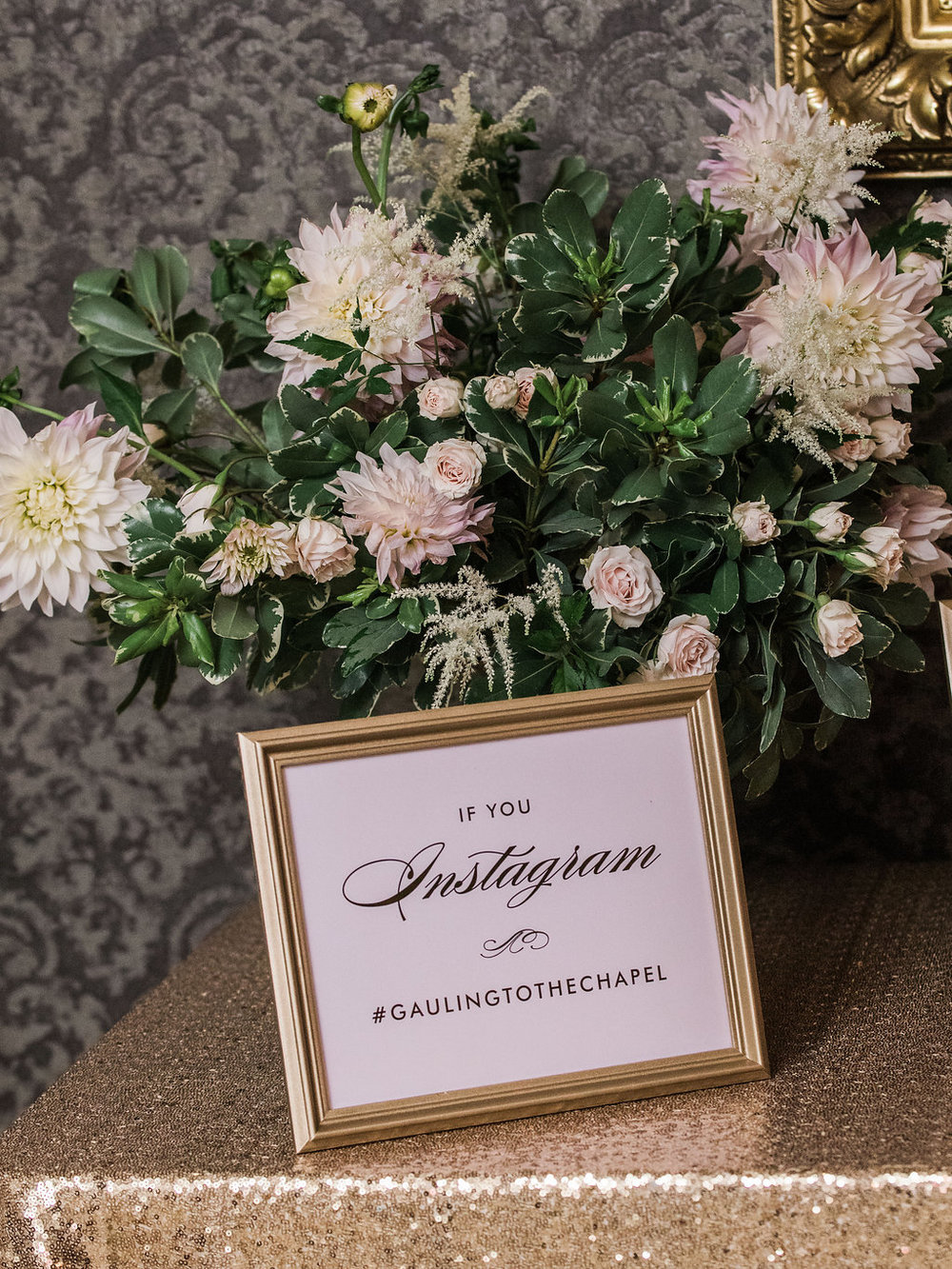 Blossom and vine wedding flowers washington dc