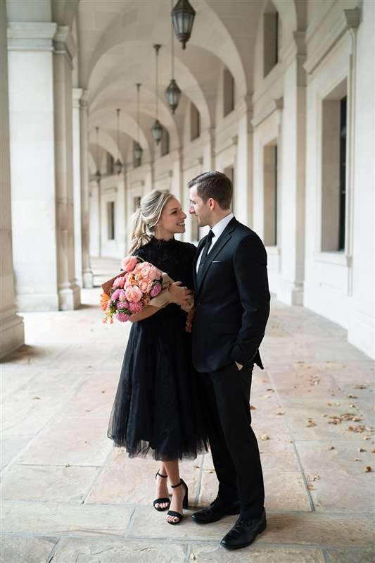 N + M Engagement Shoot | DC Wedding Florist | Engaged | Sophie Felts Floral Design |