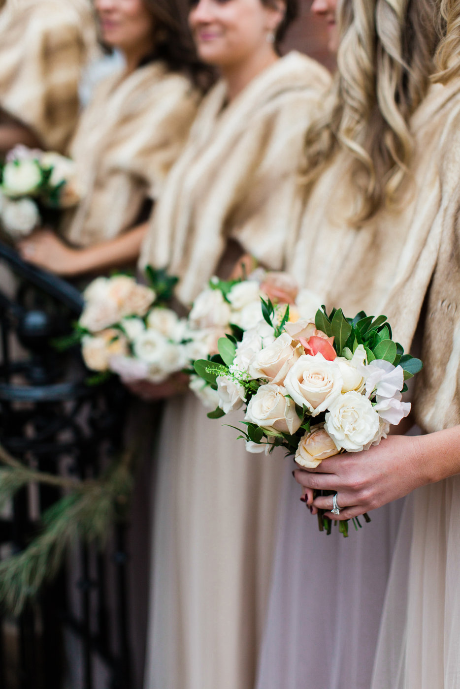 Sophie Felts Floral Design | A +E Decatur House | Modern Luxury | DC Wedding Florist |