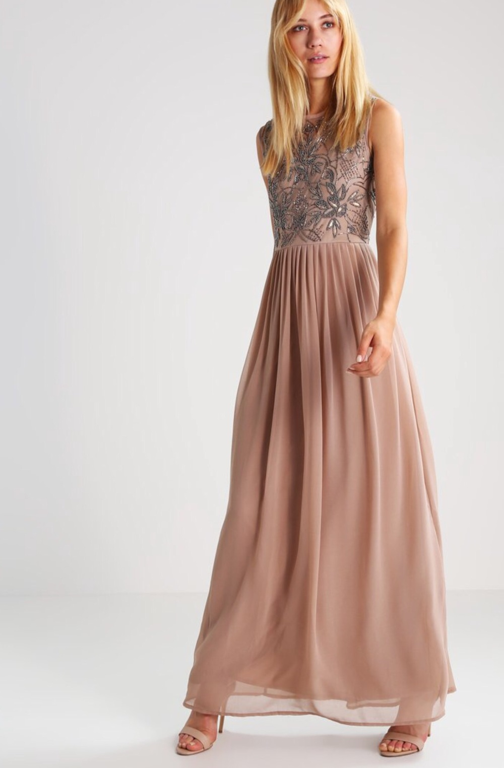 Nude Maxi Dress from Zalando 849 Dkk