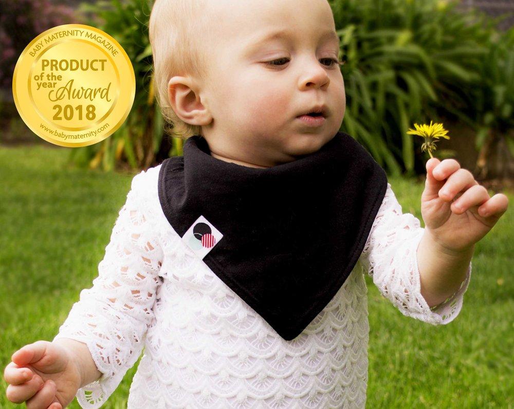Baby Bandana Bibs - super absorbent, organic cotton
