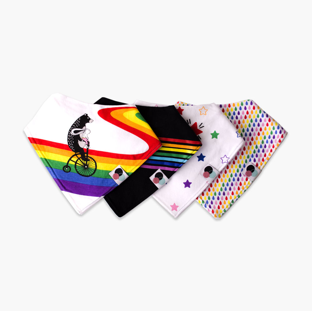 Rainbow | Baby Bandana Bib Collection