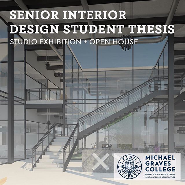 Join us for the @keaninteriordesign Senior Interior Design Student Thesis Studio Exhibition + Open House @keanuniversity to experience our fantastic student portfolios.  Thursday, December 6, 2018 from 5:30 PM to 8:00 PM (EST) Kean University, 1000 Morris Ave 1000 Morris Avenue GREEN LANE BUILDING Union, NJ 07083 . . . . #design #interiordesign #newjersey #kean #keanuniversity #portfolio #creativity