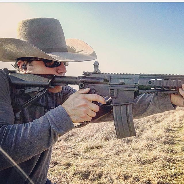 ----Because I'm a Native Texan------- *No optics, No problem Gotta keep that open sight game strong, at least out to 500 like we were taught in boot camp. #BrillianceAtTheBasics **I hear now everything is with an optic** What's the deal @marines . . . For as low as I wear my @resistol1927 7X Stone, gotta love being able to wear my @skeletonoptics #Scouts as well as electronic ear pro/com. Thanks @teamskeleton for having me, can't say enough about these top notch pieces of glass. Gotta hand it to @sigsauerinc right out of the box and the break in is going beautifully once you give it a fresh cleaning before hand to get all the unnecessary crap off of it to keep it from sticking. Big abmi Fan. Gotta love being able to break in #firearms #cowboyHats #silinx #AR #Rifles #Igmilitia #murderyassfriends #ambidextrous #iphone6 #iphonephotography . . . #LevelWestIntegralLLC #ScoutSniper #Marines #Texas #Basics #OIF #OEF